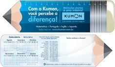 Marcador de livro - Kumon
