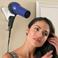 Multitask in your dorm room with this Hands-Free Hair Dryer Holder
