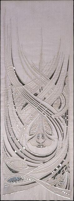 Art Nouveau Dress Panel - by Hector Guimard,