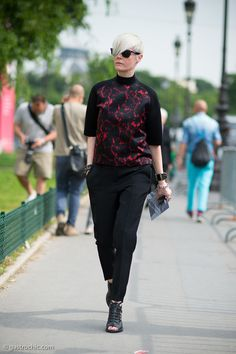 Kate Lanphear at Chanel Couture Aug. '13