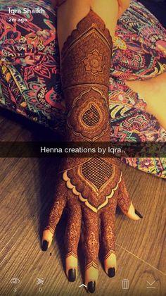Best Ideas For Wedding Food Receptions Beautiful Kashee's Mehndi Designs, Mehndi Desing, Mehndi Design Pictures, Wedding Mehndi Designs, Mehndi Images, Latest Mehndi Designs, Henna Tattoo Hand, Henna Mehndi, Mandala Tattoo