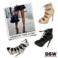 Weekend Style Inspo: Vala MN is the perfect spring heel for Sunday brunches and nights out. Available in nude, black and snakeskin. http://www.dswshoe.com.au/Catalogue?styleID=12783&Colour=Black+Pu