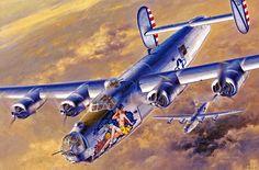 B-24J Liberator 'Cocktail Hour' by Shigeo Koike