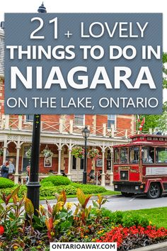 Looking for great things to do in Niagara on the Lake, Ontario, Canada? In this guide, we share some attractions and sights that you shouldn't miss in the famous wine region - because there is much more to see that just wineries! Canada National Parks, Ontario Travel, Travel Activities, New York Travel, Alberta Canada, Canada Travel, Oh The Places You'll Go, Things To Do, Lovely Things