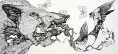 Lauren Marx's Intricate Zoological, Cosmological Drawings - Artists Inspire Artists