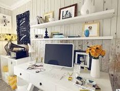 shabby-chic-home-officeInterior Design Ideas.