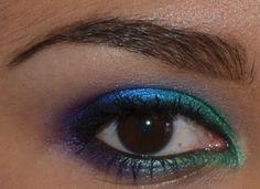 Easy Colorful Makeup! #browneyes #sugarpill #NYX #makeup