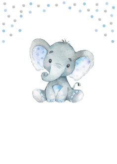 Classy and cute, this cute elephant wall art will be perfect in your babys elephant, jungle or safari themed nursery. Elephant Wall Decor, Elephant Nursery, Cute Elephant, Elephant Shower, Safari Theme Nursery, Themed Nursery, Floral Printables, Baby Art, New Baby Gifts