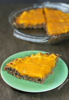 Emily Bites - Weight Watchers Friendly Recipes: Cheeseburger Meatloaf Pie