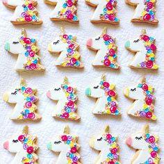 unicorn sugar cookie parade