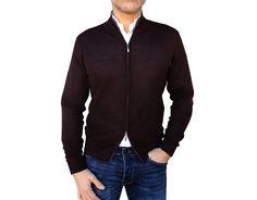 Pure Italian Cashmere Cardigan Men - Made in Italy Cashmere Jacket, Cashmere Cardigan, Cashmere Sweaters, Wrap Sweater, Men Sweater, Sweater Outfits, Casual Outfits, Cold Weather Outfits, Business Outfits
