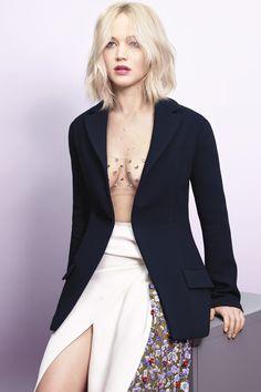 The Hilarious Reason Jennifer Lawrence Chose a Cutout Dior Dress For Award Season