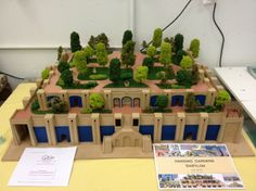 school project hanging gardens | The picture below shows the large scale of the hanging gardens of ...