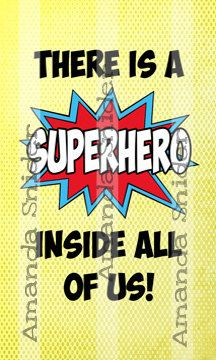 Superhero Classroom Poster by TeachingwithClass on Etsy