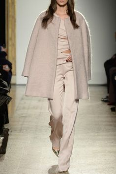 Powder Pink Woolen Coat - #MilanFashionWeek in #PreO: tap link in bio to be a @Genny Official woman and #Preorder its #AW16 collection right now!