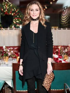 Olivia Palermo chats with us about her holiday uniform and how she'll be accessorizing this season.