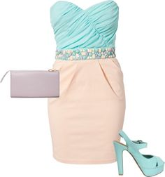 """dress jewl shoesbag"" by valorielikes on Polyvore"