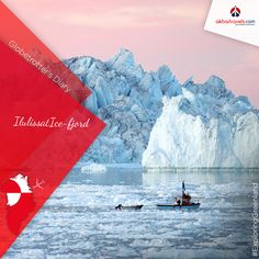 GLOBETROTTER'S DIARIES - ‪#‎ExploringGreenland‬ Ilulissat Icefjord - Greenland The perfect place to witness an awe-inspiring natural spectacle. This place is Greenland's most visited place & UNESCO World Heritage Site since 2004. #Greenland #Traveler #Traveladdict #explore #beautiful #trip #tourism
