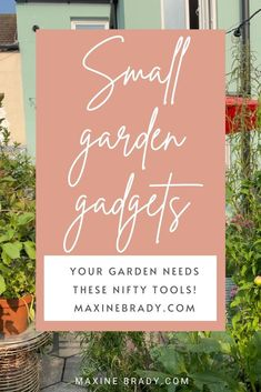 Is your small garden missing one of these 3 nifty tools? Outdoor Garden Rooms, Garden Spaces, Mini Shed, Garden Tools, Garden Ideas, Interior Stylist, Summer Is Here, Flower Fashion, Small Gardens