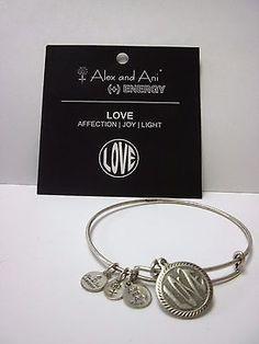 ALEX & ANI OPEN LOVE CHARM BANGLE Affection • Joy • Light NEW WITH TAGS - http://designerjewelrygalleria.com/alex-ani/alex-ani-open-love-charm-bangle-affection-%e2%80%a2-joy-%e2%80%a2-light-new-with-tags/