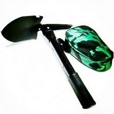 5 in 1 Folding Shovel for Camping or Survival