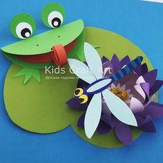 Kids Craft Artさん(@kidscraftart) • Instagram写真と動画 Animal Crafts For Kids, Paper Crafts For Kids, Toddler Crafts, Fun Crafts, Art For Kids, Diy And Crafts, Arts And Crafts, Easy Fall Crafts, Summer Crafts