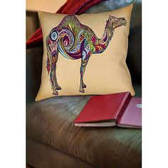 Thumbprintz Camel Indoor Pillow