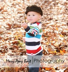 cute hat, cuter boy ;)