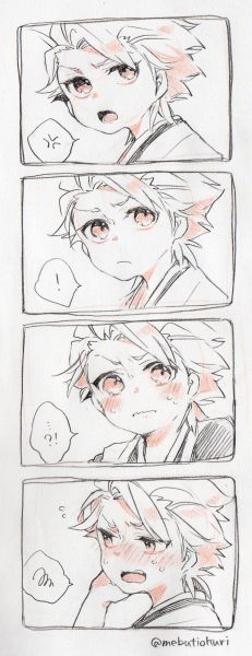 Chibi-Toushirou Hitsugaya is so expressive!