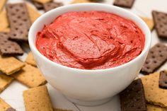 Red Velvet Cake Batter Dip  - Delish.com