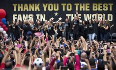 U.S. Women's National Team to play friendly Sept. 20, 2015, at Legion Field as part of victory tour.