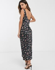 Strapless Mini Dress, Bodycon Dress, Asos, Bust A Move, Maxi Styles, Fitness Models, Scoop Neck, Floral Prints, How To Wear