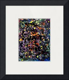 Description Title: 9103, #13, Edit C.  Creation Month, and Year: June 2014.  Series Name: '9103'.  Series Year: 2014 (On-Going).  Collection Name: ABSTRACT PAINTED PHOTOGRAPHIC ART.  Mediums: Oil Pastels and Enamel Paint.  Influence: Jackson Pollock.  The Original Artwork is the Painting on Acid-Free Acrylic Art Paper . The Finished Artwork is the Digital Photograph.  Copyright 2014 Nawfal Johnson.  All Rights Reserved.  Penang, Malaysia.