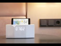 BEDDI Intelligent Alarm Clock. The Smartest Way To Wake Up - YouTube