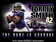 This is the OFFICIAL shirt for Torrey Smith #82 !! Your fans <3 U, Torrey!!!