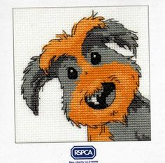 cross stitch rspca