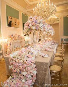 Luxury Wedding Tablescape - Christina Fedorova Photography