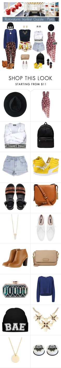 """""""Chilled Wreckers"""" by femme-mecha ❤ liked on Polyvore featuring Ryan Roche, Dolce&Gabbana, Yves Saint Laurent, Puma, ASOS, Vince Camuto, Michael Kors, Zara, Marc by Marc Jacobs and Lolita Lorenzo"""