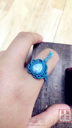 Macrame Rings, Macrame Bracelets, Ring Bracelet, Bracelet Watch, Micro Macramé, Diy Rings, Tatting, Jewels, Crochet