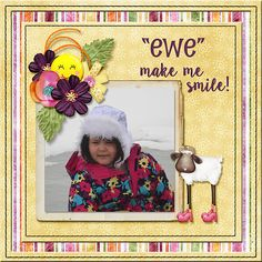 Our sweet Miss Danika having a bit of snow fun and smiles. Janece Suarez Designs DD - Giggles is a fun, colorful mini digital scrapbook kit sure to become a favorite. http://www.godigitalscrapbooking.com/shop/index.php?main_page=product_dnld_info&cPath=29_419&products_id=31572