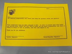 What to do when the PINK SLIP doesn't cut it?  Why the YELLOW SLIP of course!