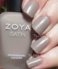 Rowan - Zoya Naturel Satins Collection Swatches