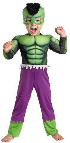 Toddler Muscle Hulk Costume - Hulk Costumes