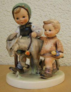 HUM #334 HOMEWARD BOUND TM5 GOEBEL M.I. HUMMEL FIGURINE OLD STYLE GERMANY $500 | eBay