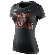 MLB San Francisco Giants 2014 MLB National Champions  T-Shirt