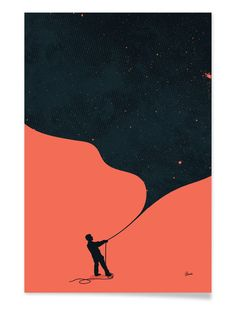 Night Fills Up the Sky by Budi Kwan (Canvas) by Curioos at Gilt