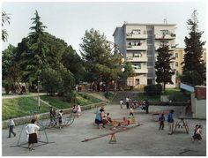 Tiranë - Kendi i lojrave per fëmijë në Vitet e Socializmit Socialist State, Socialism, Socialist Realism, Street View, Albania