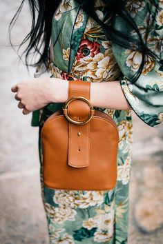 How to Style a Silk Robe for Spring | Parisa Wang Bag | Of Leather and Lace Blog by Tina Lee