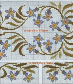 No photo description available. Ribbon Embroidery, Embroidery Stitches, Cross Stitch Flowers, Cross Stitch Patterns, Bargello, Needlework, Diy And Crafts, Projects To Try, Kids Rugs