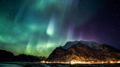 Aurora Borealis Over Tromso - Norway